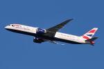 シグナス021さんが、羽田空港で撮影したブリティッシュ・エアウェイズ 787-9の航空フォト(飛行機 写真・画像)
