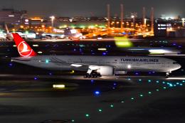 EY888さんが、羽田空港で撮影したターキッシュ・エアラインズ 777-3F2/ERの航空フォト(飛行機 写真・画像)