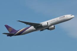 じゃがさんが、成田国際空港で撮影したタイ国際航空 777-3AL/ERの航空フォト(飛行機 写真・画像)