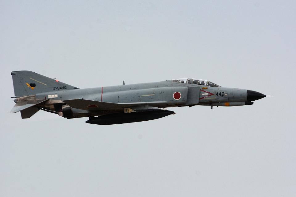 banshee02さんの航空自衛隊 Mitsubishi F-4EJ Kai Phantom II (17-8440) 航空フォト