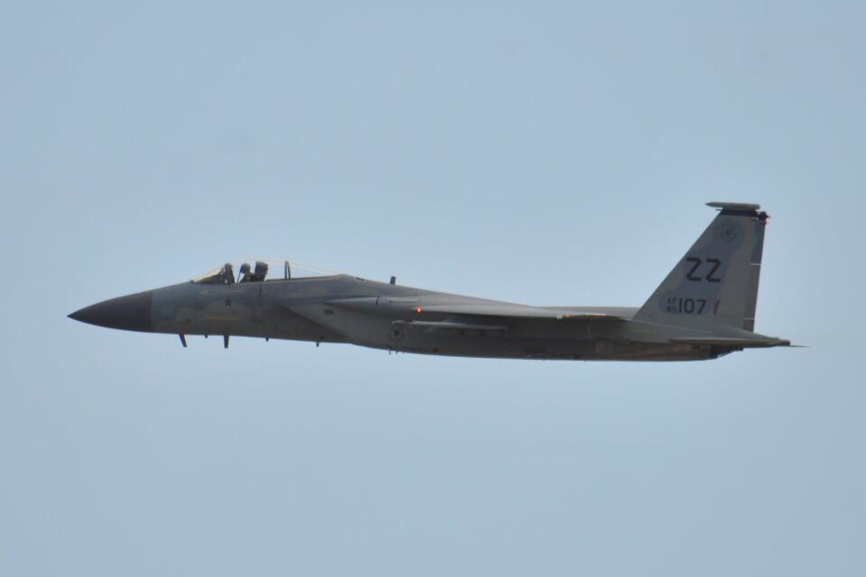 350JMさんのアメリカ空軍 McDonnell Douglas F-15 A/B/C/D/E (85-0107) 航空フォト