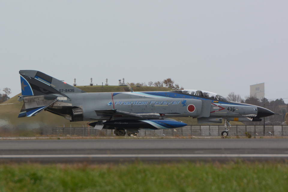 banshee02さんの航空自衛隊 Mitsubishi F-4EJ Kai Phantom II (07-8436) 航空フォト