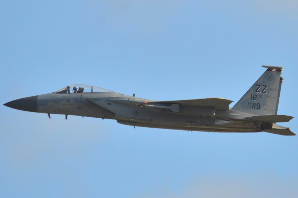 350JMさんのアメリカ空軍 McDonnell Douglas F-15 A/B/C/D/E (85-0119) 航空フォト