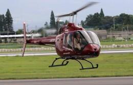 EosR2さんが、鹿児島空港で撮影したセコインターナショナル 505 Jet Ranger Xの航空フォト(飛行機 写真・画像)