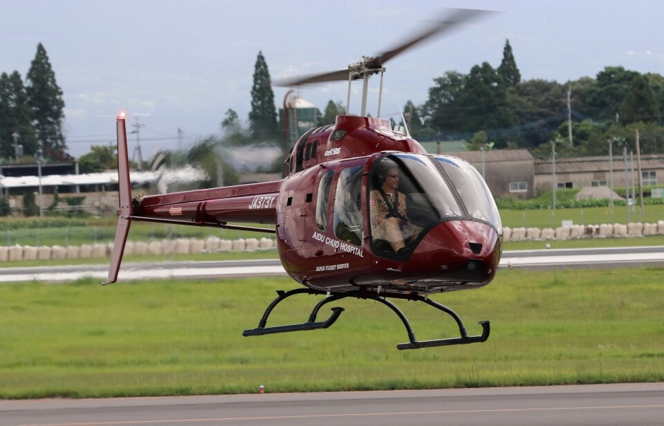 EosR2さんのセコインターナショナル Bell 505 (JA373Y) 航空フォト