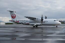 職業旅人さんが、札幌飛行場で撮影した北海道エアシステム ATR-42-600の航空フォト(飛行機 写真・画像)