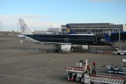 職業旅人さんが、中部国際空港で撮影したスターフライヤー A320-214の航空フォト(飛行機 写真・画像)
