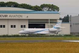 EosR2さんが、鹿児島空港で撮影した静岡エアコミュータ Falcon 2000EXの航空フォト(飛行機 写真・画像)