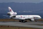Gambardierさんが、関西国際空港で撮影したJALウェイズ DC-10-40Iの航空フォト(飛行機 写真・画像)