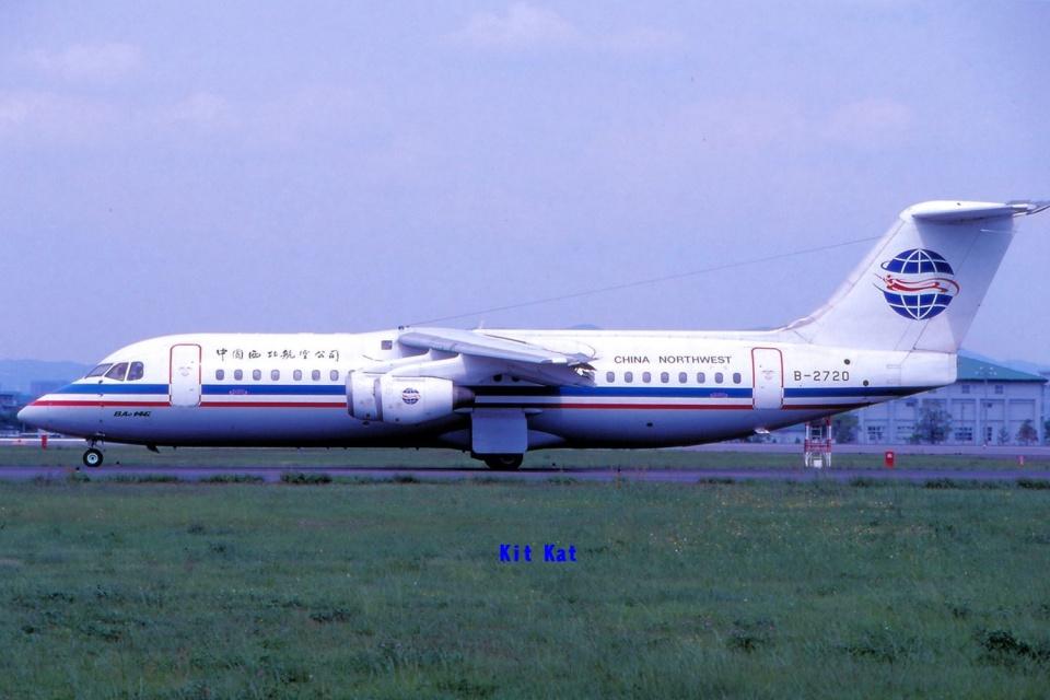 キットカットさんの中国西北航空 British Aerospace BAe-146/Avro RJ (B-2720) 航空フォト