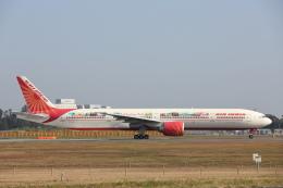 安芸あすかさんが、成田国際空港で撮影したエア・インディア 777-337/ERの航空フォト(飛行機 写真・画像)