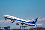 かっちゃん✈︎さんが、羽田空港で撮影した全日空 777-381/ERの航空フォト(飛行機 写真・画像)