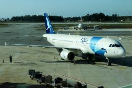 JETBIRDさんが、フランシスコ・サ・カルネイロ空港で撮影したアゾレス・エアラインズ A320-214の航空フォト(飛行機 写真・画像)