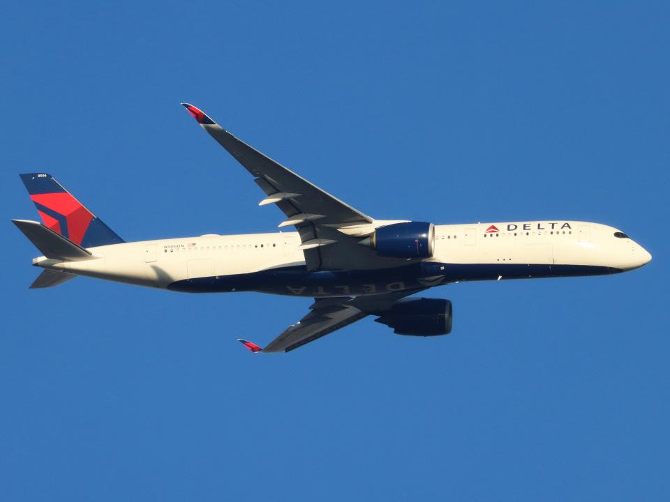 丸めがねさんのデルタ航空 Airbus A350-900 (N506DN) 航空フォト