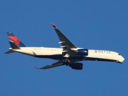 丸めがねさんが、羽田空港で撮影したデルタ航空 A350-941の航空フォト(飛行機 写真・画像)