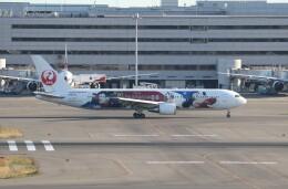 サリーちゃんのパパさんが、羽田空港で撮影した日本航空 767-346/ERの航空フォト(飛行機 写真・画像)