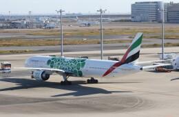 サリーちゃんのパパさんが、羽田空港で撮影したエミレーツ航空 777-31H/ERの航空フォト(飛行機 写真・画像)