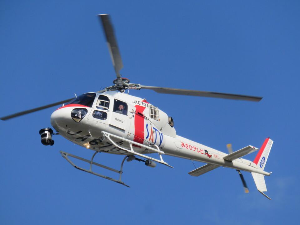 ランチパッドさんの東邦航空 Aerospatiale AS355 Ecureuil 2/TwinStar (JA6707) 航空フォト