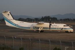 MOR1(新アカウント)さんが、鹿児島空港で撮影した海上保安庁 DHC-8-315Q Dash 8の航空フォト(飛行機 写真・画像)