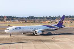 Y-Kenzoさんが、成田国際空港で撮影したタイ国際航空 777-3AL/ERの航空フォト(飛行機 写真・画像)