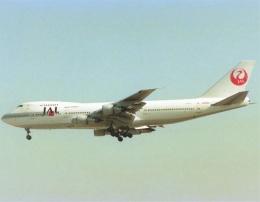 エルさんが、成田国際空港で撮影した日本航空 747-146B/SRの航空フォト(飛行機 写真・画像)