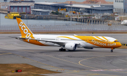 Asamaさんが、香港国際空港で撮影したスクート 787-9の航空フォト(飛行機 写真・画像)