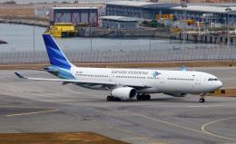 Asamaさんが、香港国際空港で撮影したガルーダ・インドネシア航空 A330-341の航空フォト(飛行機 写真・画像)