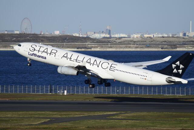 航空フォト:D-AIFE ルフトハンザドイツ航空 A340-300