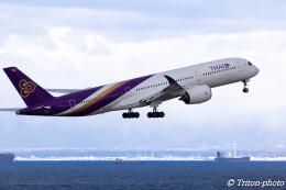 triton@blueさんが、中部国際空港で撮影したタイ国際航空 A350-941の航空フォト(飛行機 写真・画像)