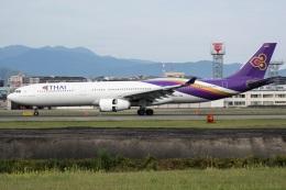 kan787allさんが、福岡空港で撮影したタイ国際航空 A330-343Xの航空フォト(飛行機 写真・画像)