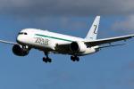 panchiさんが、成田国際空港で撮影したZIPAIR 787-8 Dreamlinerの航空フォト(飛行機 写真・画像)