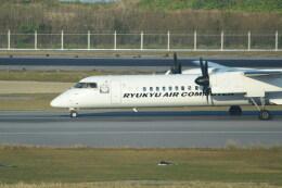 琉球エアーコミューター Bombardier DHC-8-400 (JA83RC)  航空フォト | by kumagorouさん  撮影2020年02月22日%s