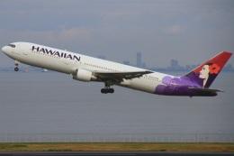 ちゅういちさんが、羽田空港で撮影したハワイアン航空 767-33A/ERの航空フォト(飛行機 写真・画像)