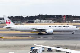 KoshiTomoさんが、成田国際空港で撮影した日本航空 777-346/ERの航空フォト(飛行機 写真・画像)