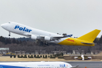 KoshiTomoさんが、成田国際空港で撮影したポーラーエアカーゴ 747-47UF/SCDの航空フォト(飛行機 写真・画像)