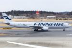 KoshiTomoさんが、成田国際空港で撮影したフィンエアー A330-302Xの航空フォト(飛行機 写真・画像)