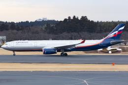 KoshiTomoさんが、成田国際空港で撮影したアエロフロート・ロシア航空 A330-343Xの航空フォト(飛行機 写真・画像)