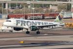 キャスバルさんが、フェニックス・スカイハーバー国際空港で撮影したフロンティア航空 A320-214の航空フォト(飛行機 写真・画像)