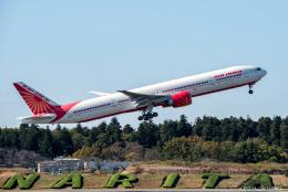 ぱん_くまさんが、成田国際空港で撮影したエア・インディア 777-337/ERの航空フォト(飛行機 写真・画像)