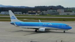 singapore346さんが、チューリッヒ空港で撮影したKLMオランダ航空 737-8K2の航空フォト(飛行機 写真・画像)