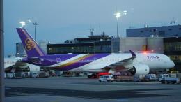 singapore346さんが、フランクフルト国際空港で撮影したタイ国際航空 A350-941の航空フォト(飛行機 写真・画像)