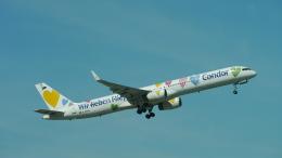 singapore346さんが、デュッセルドルフ国際空港で撮影したコンドル 757-330の航空フォト(飛行機 写真・画像)
