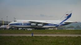 singapore346さんが、シュトゥットガルト空港で撮影したヴォルガ・ドニエプル航空 An-124-100 Ruslanの航空フォト(飛行機 写真・画像)
