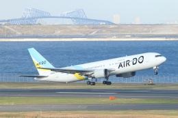 ceskykrumlovさんが、羽田空港で撮影したAIR DO 767-381/ERの航空フォト(飛行機 写真・画像)