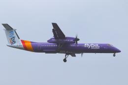 かみじょー。さんが、ロンドン・シティ空港で撮影したフライビー DHC-8-402Q Dash 8の航空フォト(飛行機 写真・画像)