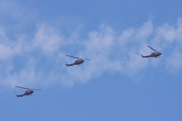 mild lifeさんが、八尾空港で撮影した陸上自衛隊 UH-1Jの航空フォト(飛行機 写真・画像)