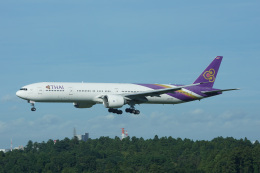 神宮寺ももさんが、成田国際空港で撮影したタイ国際航空 777-3AL/ERの航空フォト(飛行機 写真・画像)