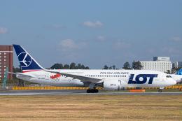 SGR RT 改さんが、成田国際空港で撮影したLOTポーランド航空 787-8 Dreamlinerの航空フォト(飛行機 写真・画像)