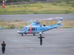 F.YUKIHIDEさんが、岡南飛行場で撮影した広島県警察 A109E Powerの航空フォト(飛行機 写真・画像)