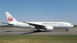 hachiさんが、新千歳空港で撮影した日本航空 777-246の航空フォト(飛行機 写真・画像)